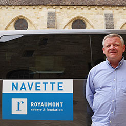 [Navettes chaque week-end] Royaumont encore plus accessible !