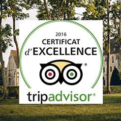 Royaumont certifiée par TripAdvisor