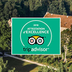Royaumont certified by TripAdvisor